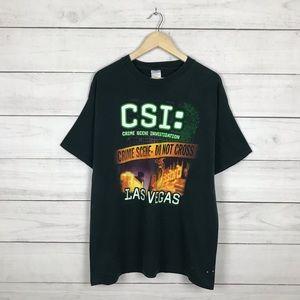 Vintage 2003 CSI Crime Tv Show T-Shirt
